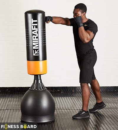 Mirafit Punch Bag /w Base