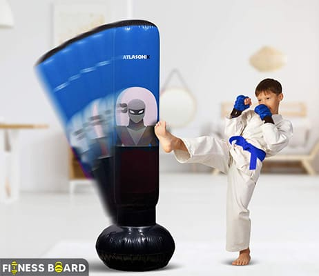 Atlasonix Inflatable Punching Bag for Kids
