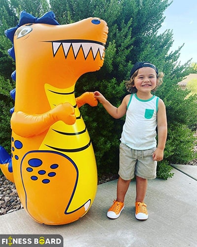 J&A's Dinosaur Inflatable Boxing Bag