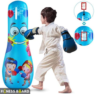 "Petyoung 47"" Inflatable Punching Bag"