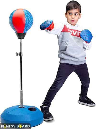 Tech Tools Kids Free Standing Boxing Ball