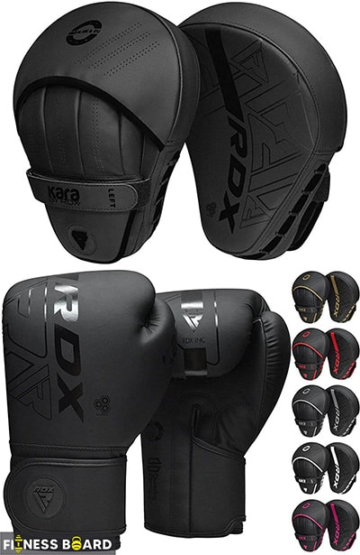 RDX Maya Hide Boxing Gloves and Pads