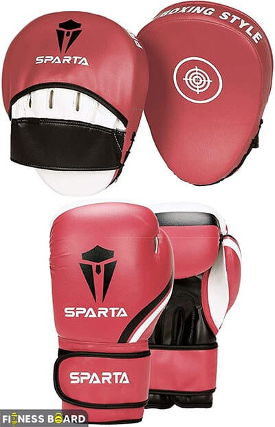 Sparta Gloves and Pads Set
