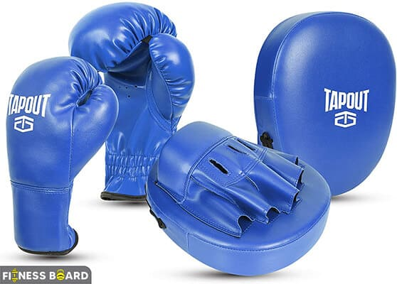 Tapout Gloves & Pads Set